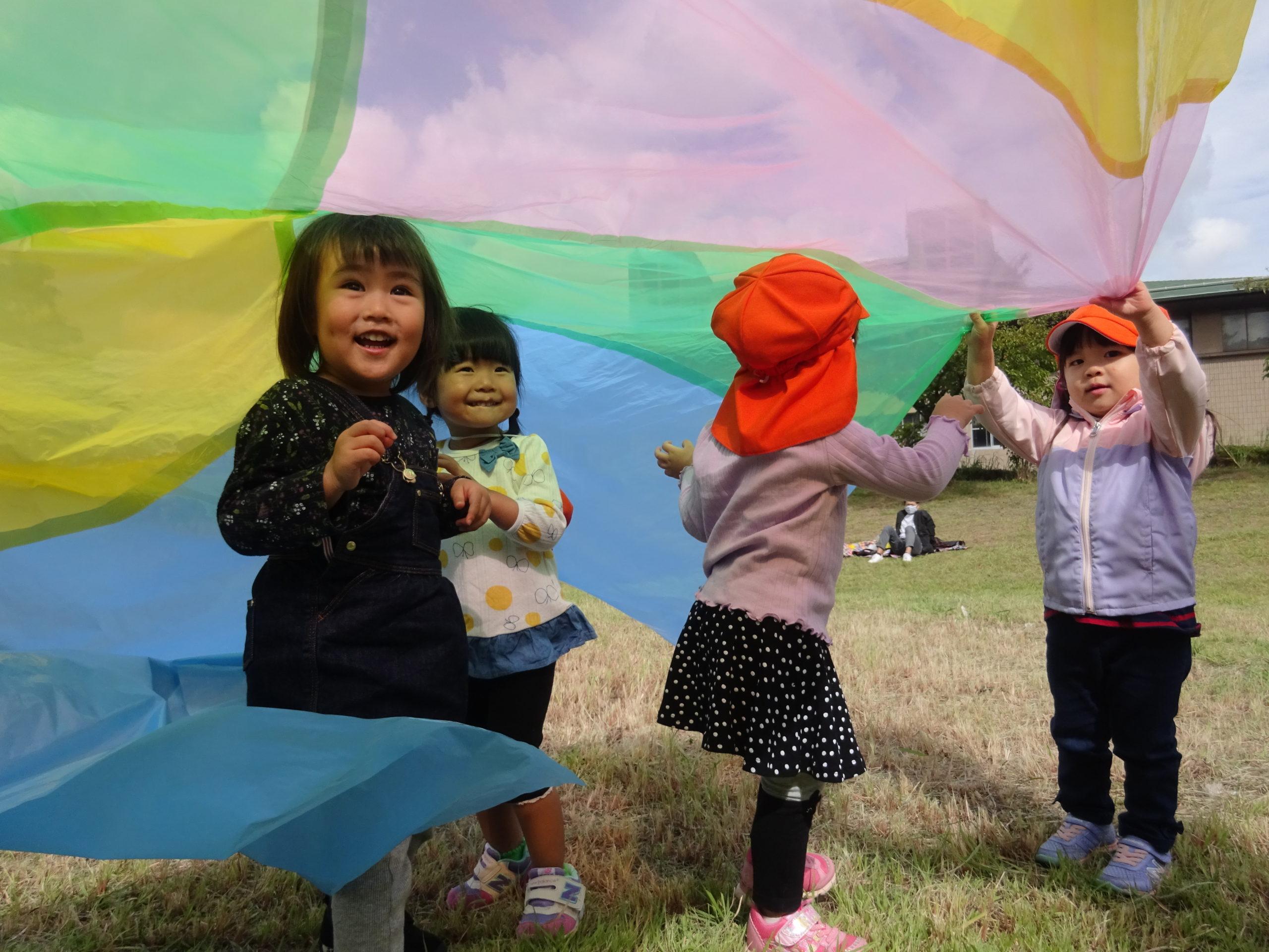 楽しかったよ!親子ハイキング!! 2・3歳児【真野第1保育園】