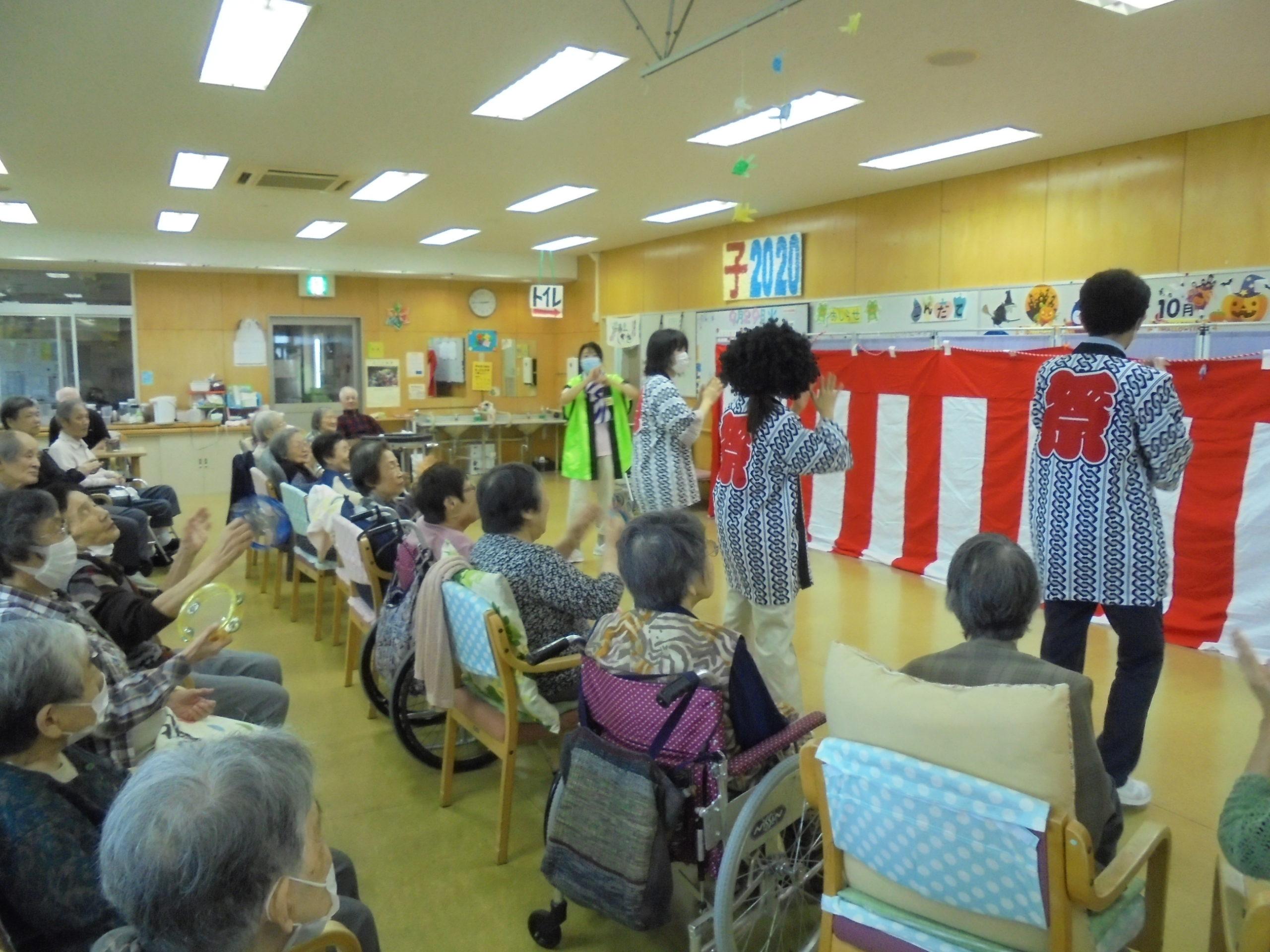 ☆9月の様子☆【デイサービスセンターかめだなかの】