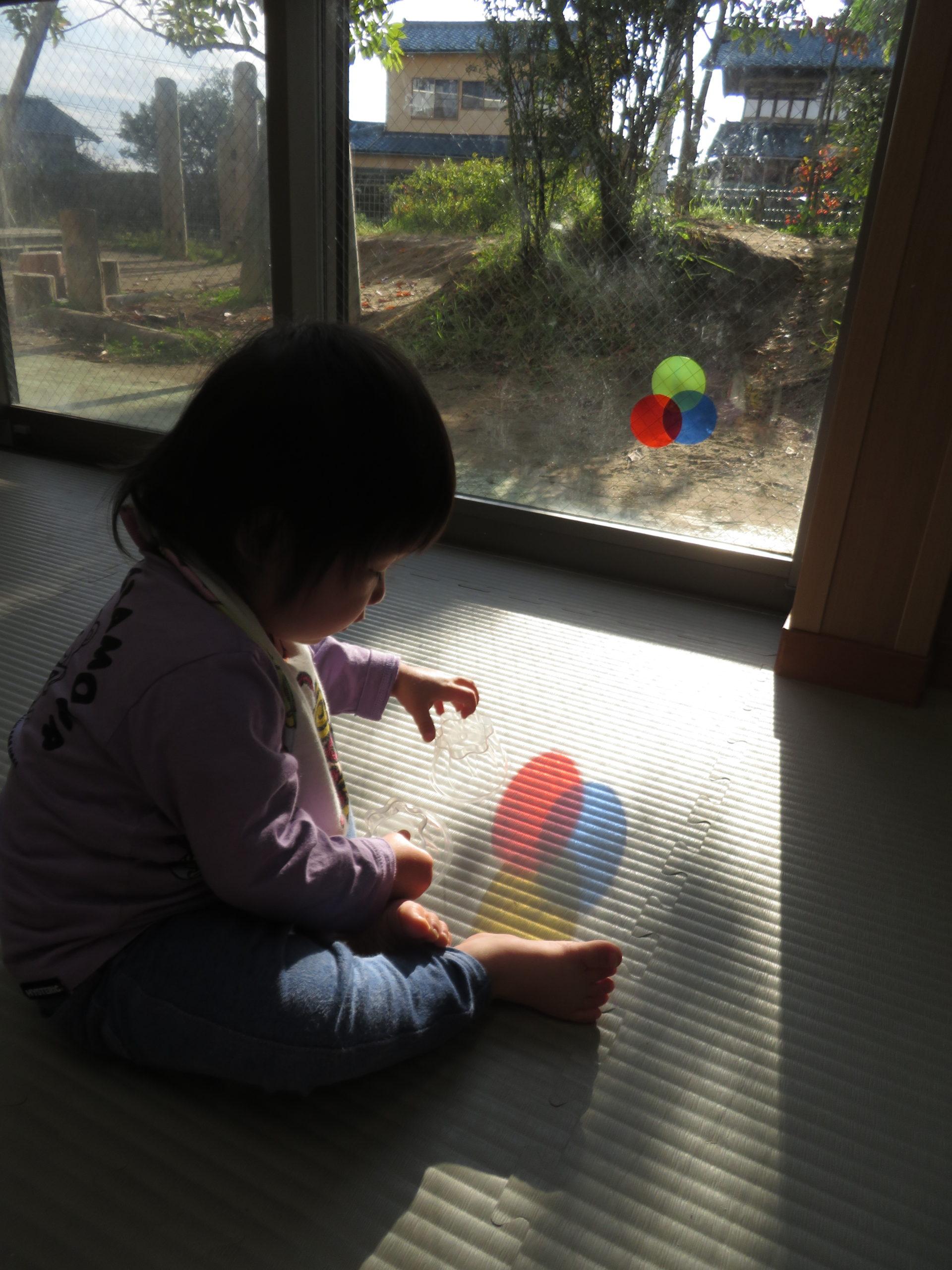 😊遊コスモス小新保育園 「0歳児 Colorful🔴🔵🟡」