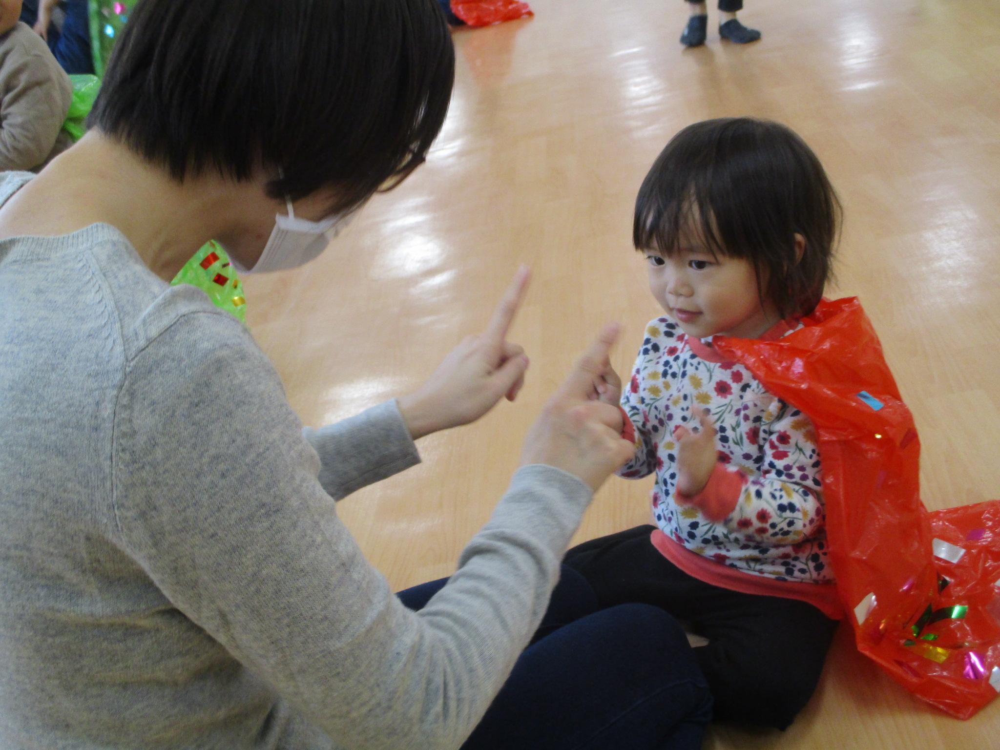 □ぎゅ~っがいっぱい♡~1・2歳児 親子わくわくふれあいデー~□YOU鐘木こども園