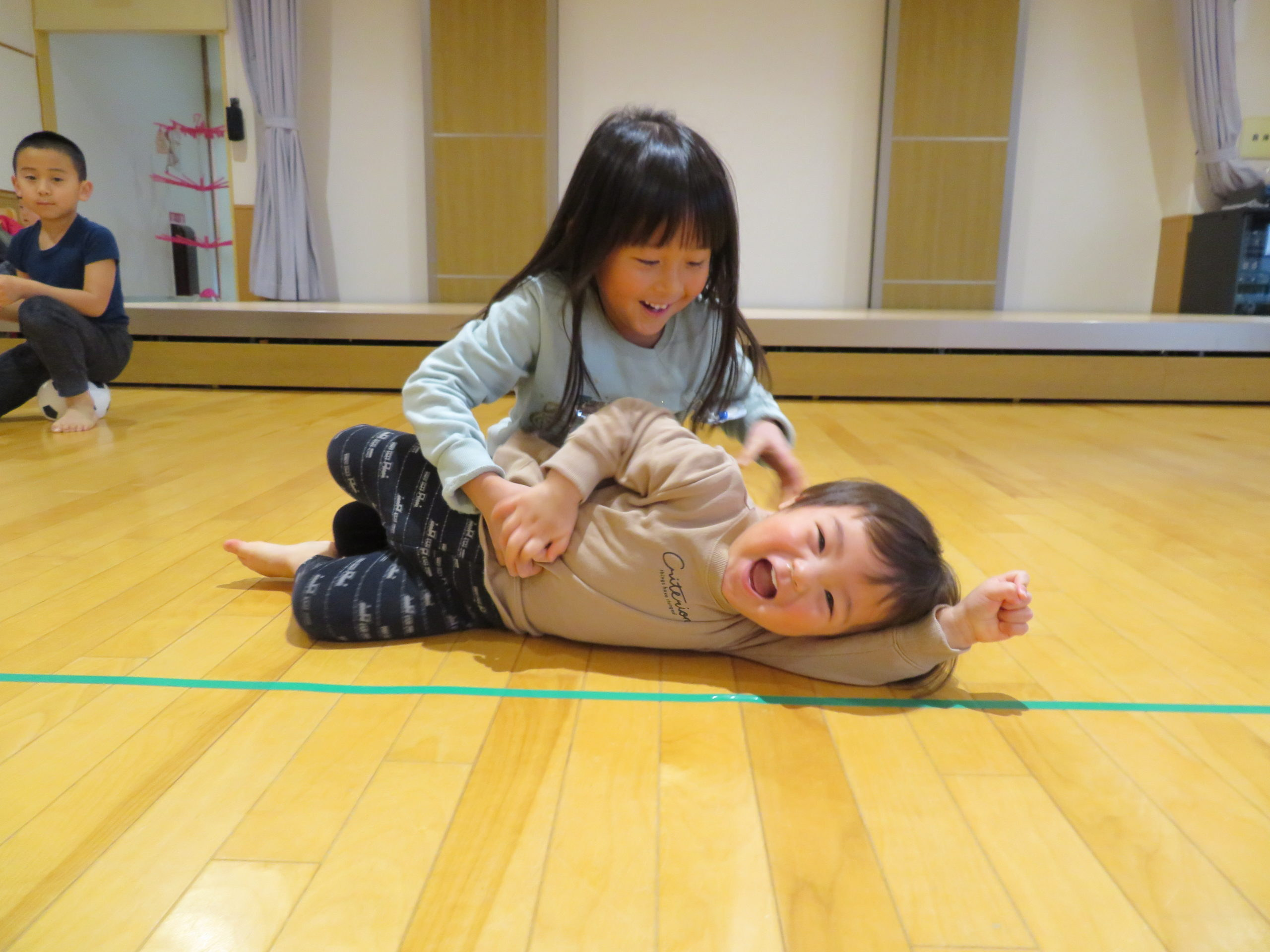 😊遊コスモス小新保育園「Sibling /きょうだい💛」