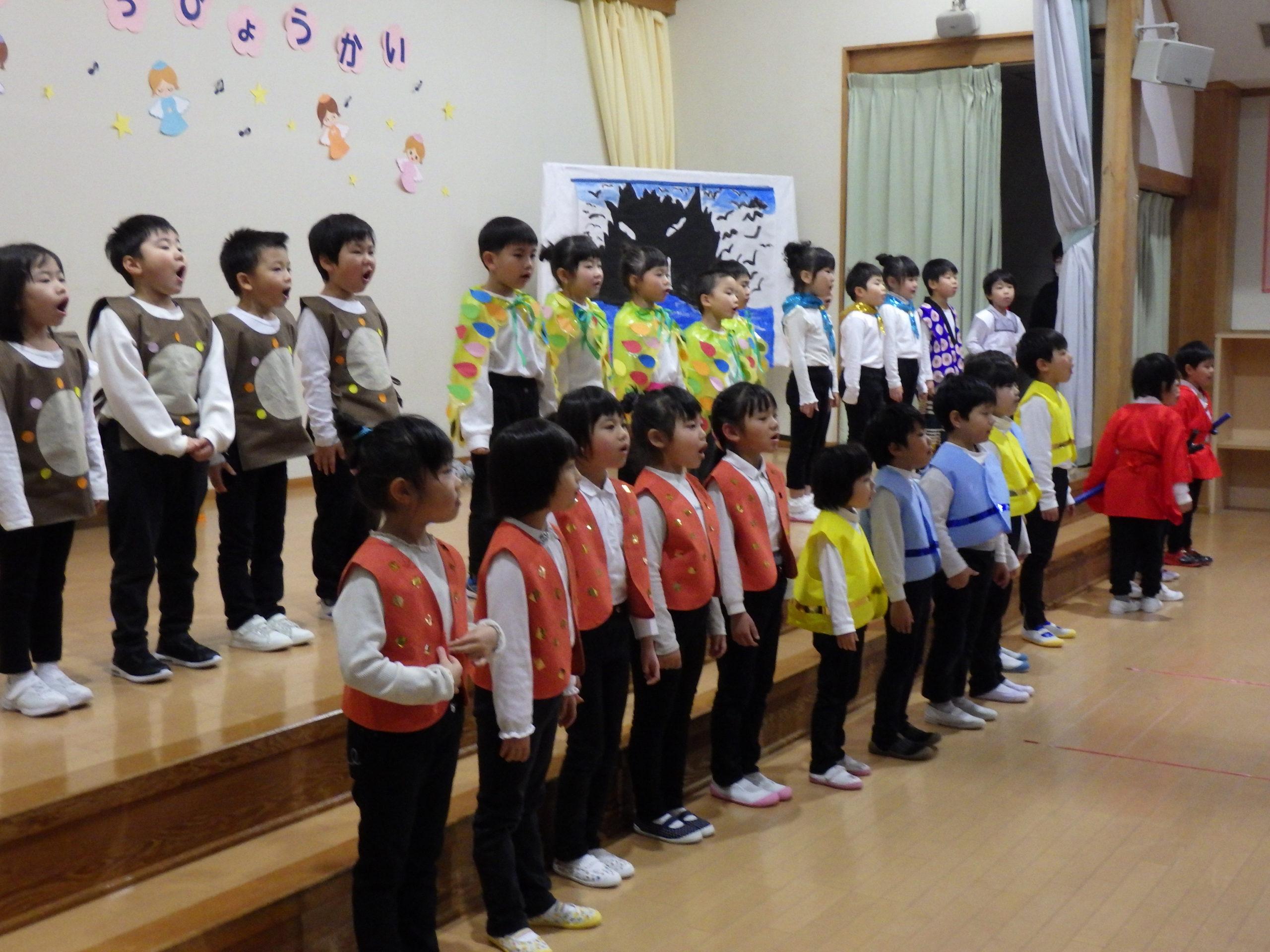 ☆頑張った最後の発表会☆ 3部 (5歳児 そら組)