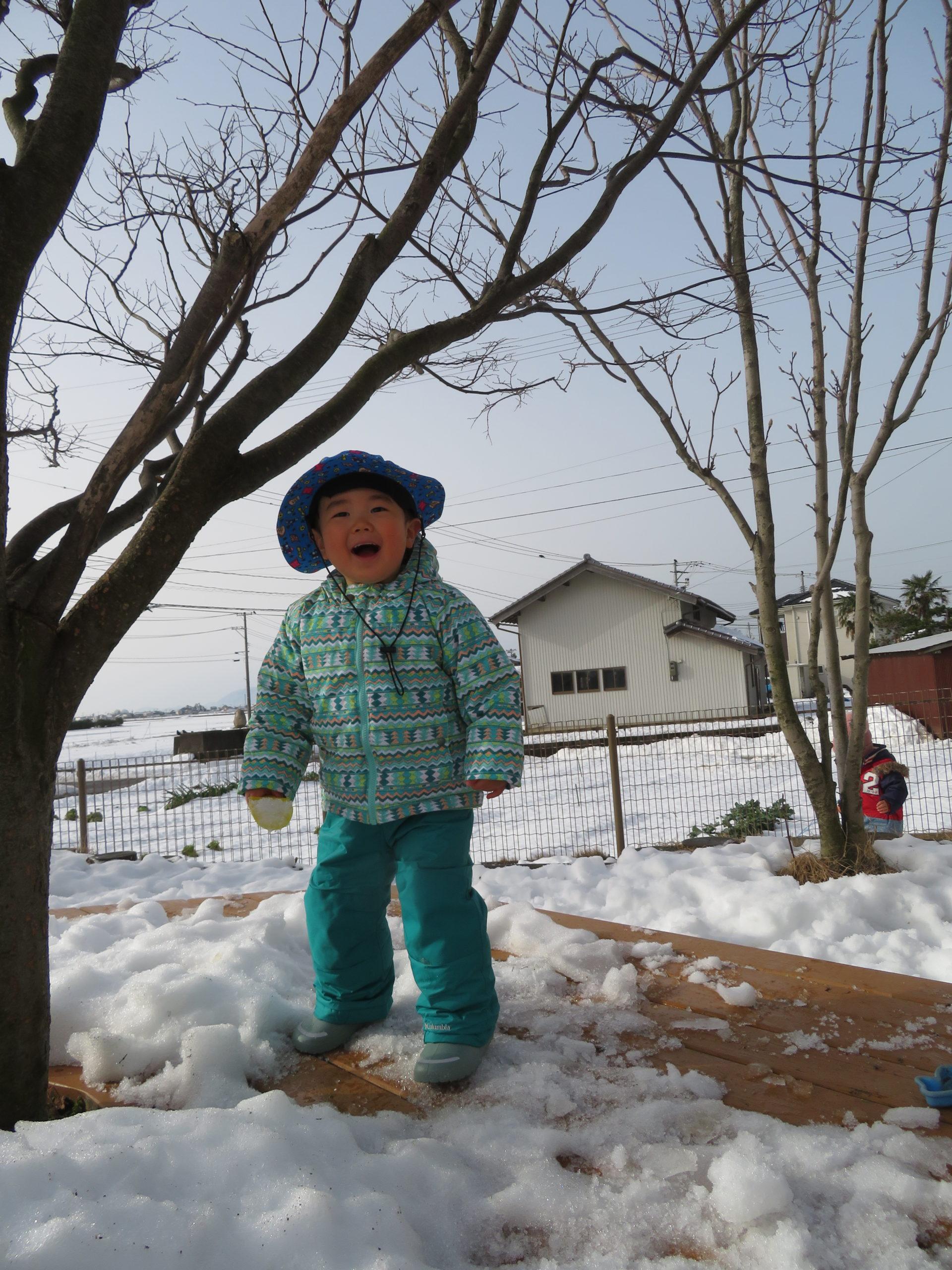 😊遊コスモス小新保育園 「⛄1歳児 Snow Play part❶❄」