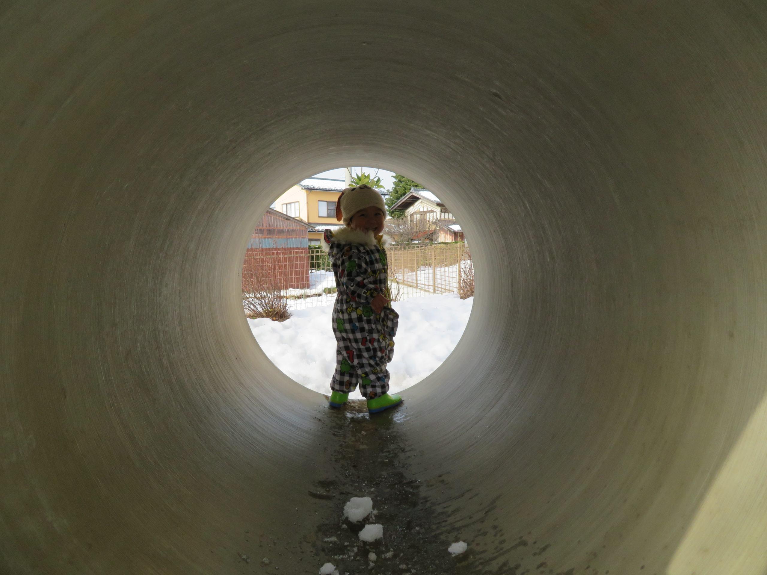 😊遊コスモス小新保育園 「⛄1歳児 Snow Play part❷❄」