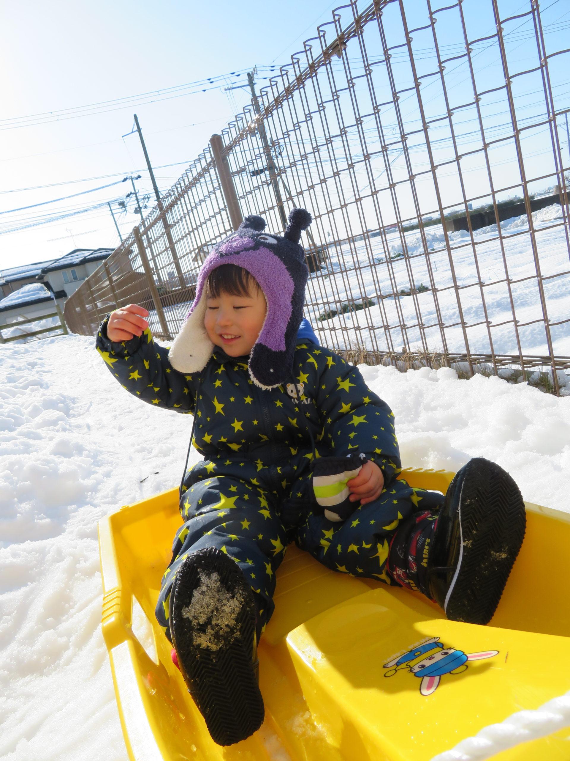 😊遊コスモス小新保育園 「⛄2歳児 Snow Play part❶❆」