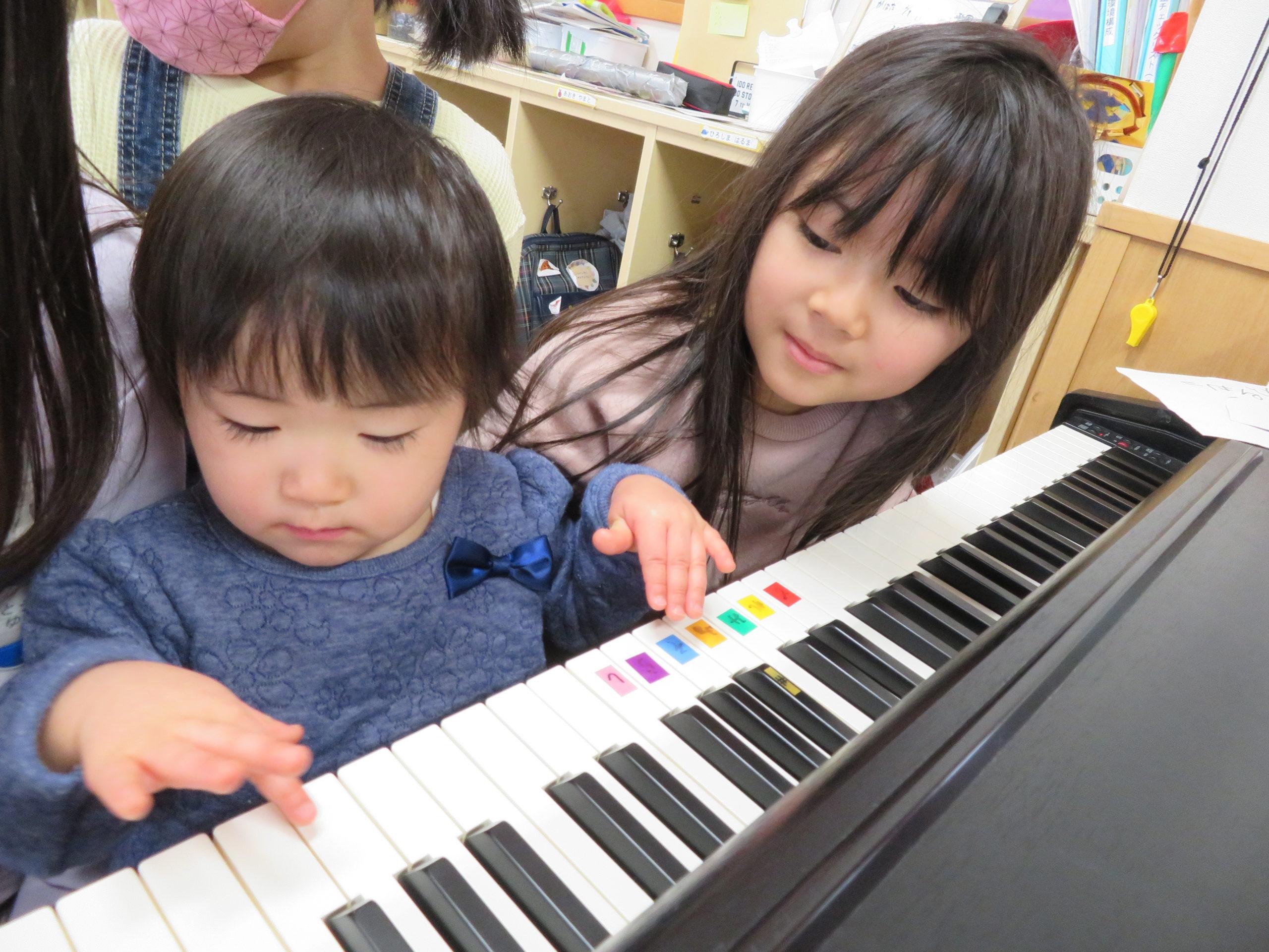 😊遊コスモス小新保育園 「5歳児 🎹Piano🎵」