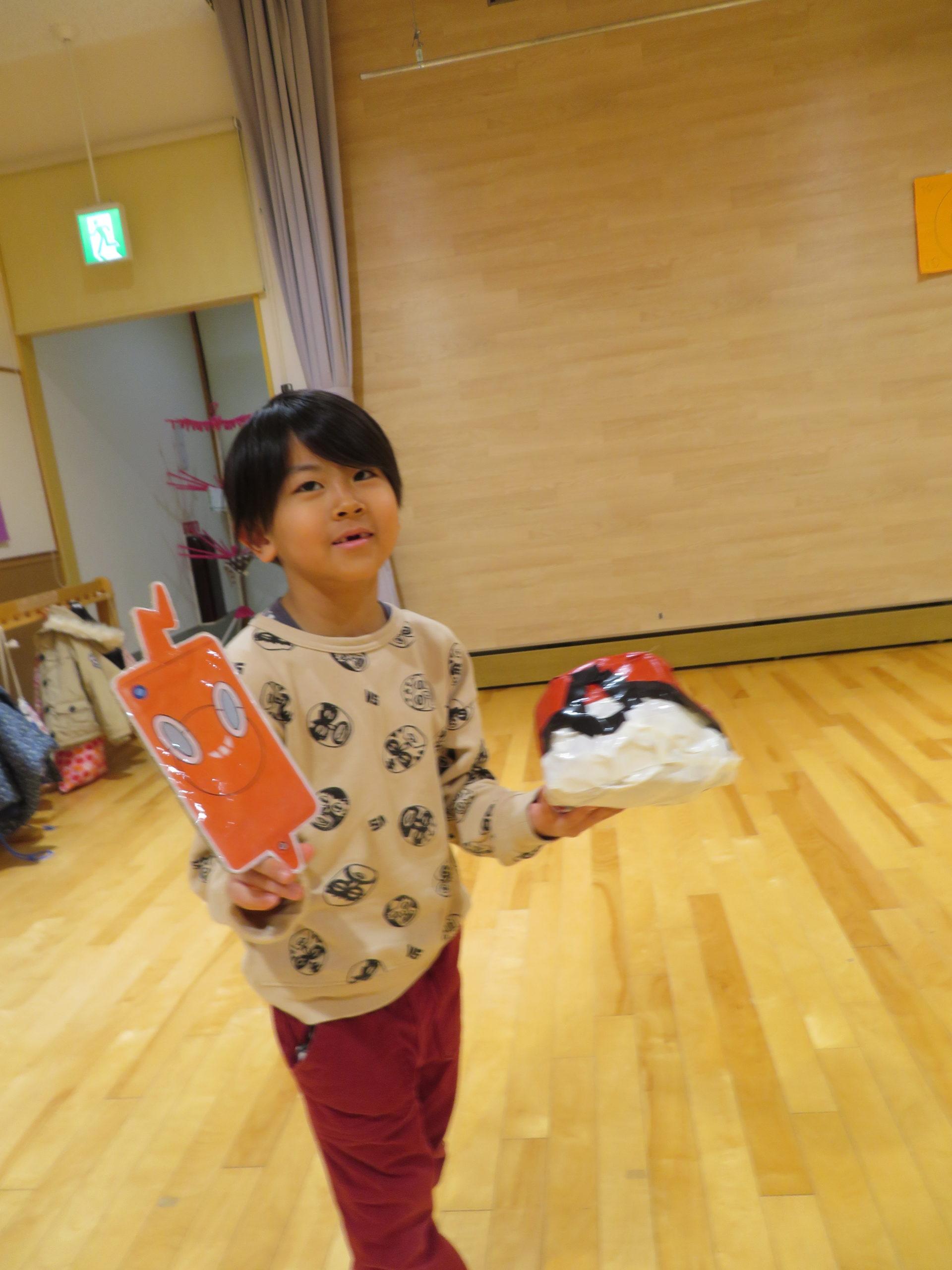 😊遊コスモス小新保育園 「5歳児 Pokémon⚡」