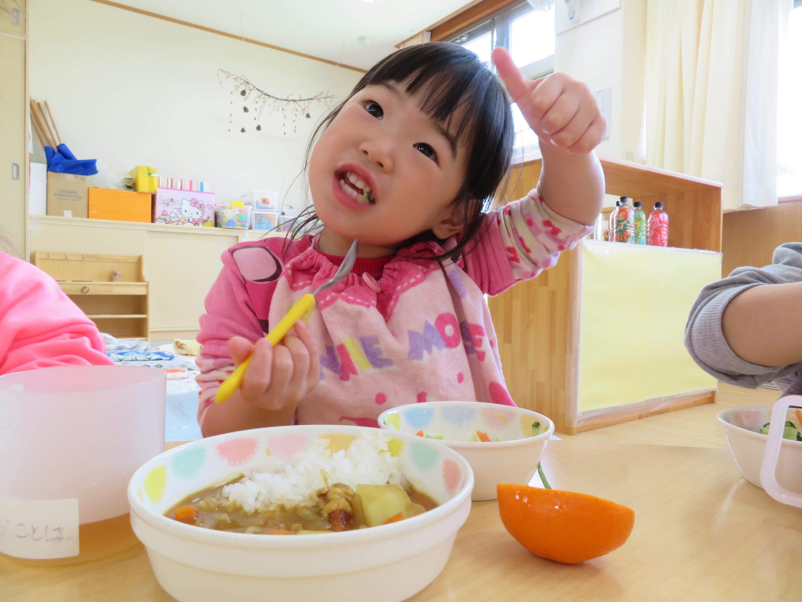😊遊コスモス小新保育園 「🍴1歳児 Lunch time😋」