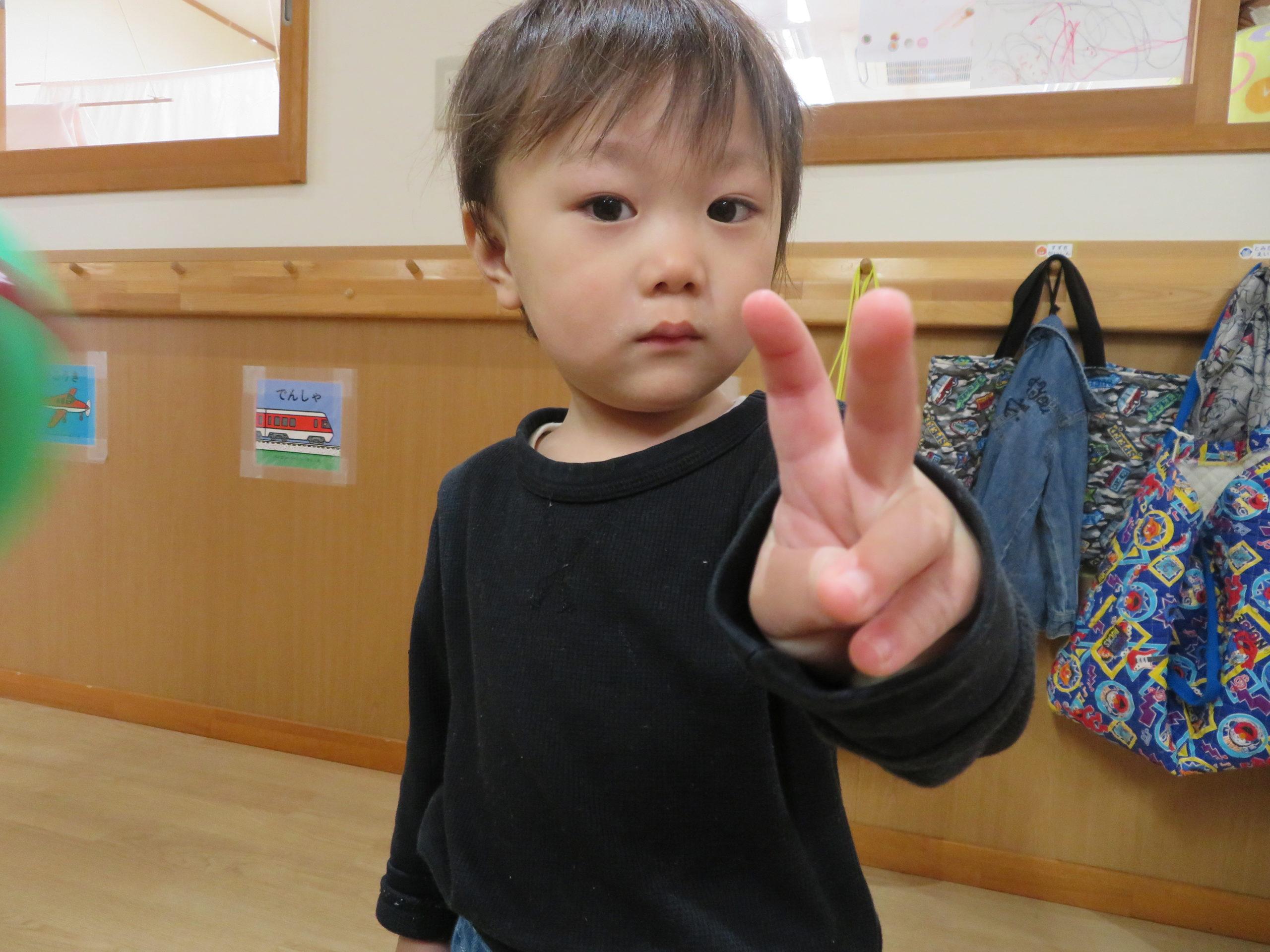 😊遊コスモス小新保育園「1歳児🤩Happy Birth Day🍰」