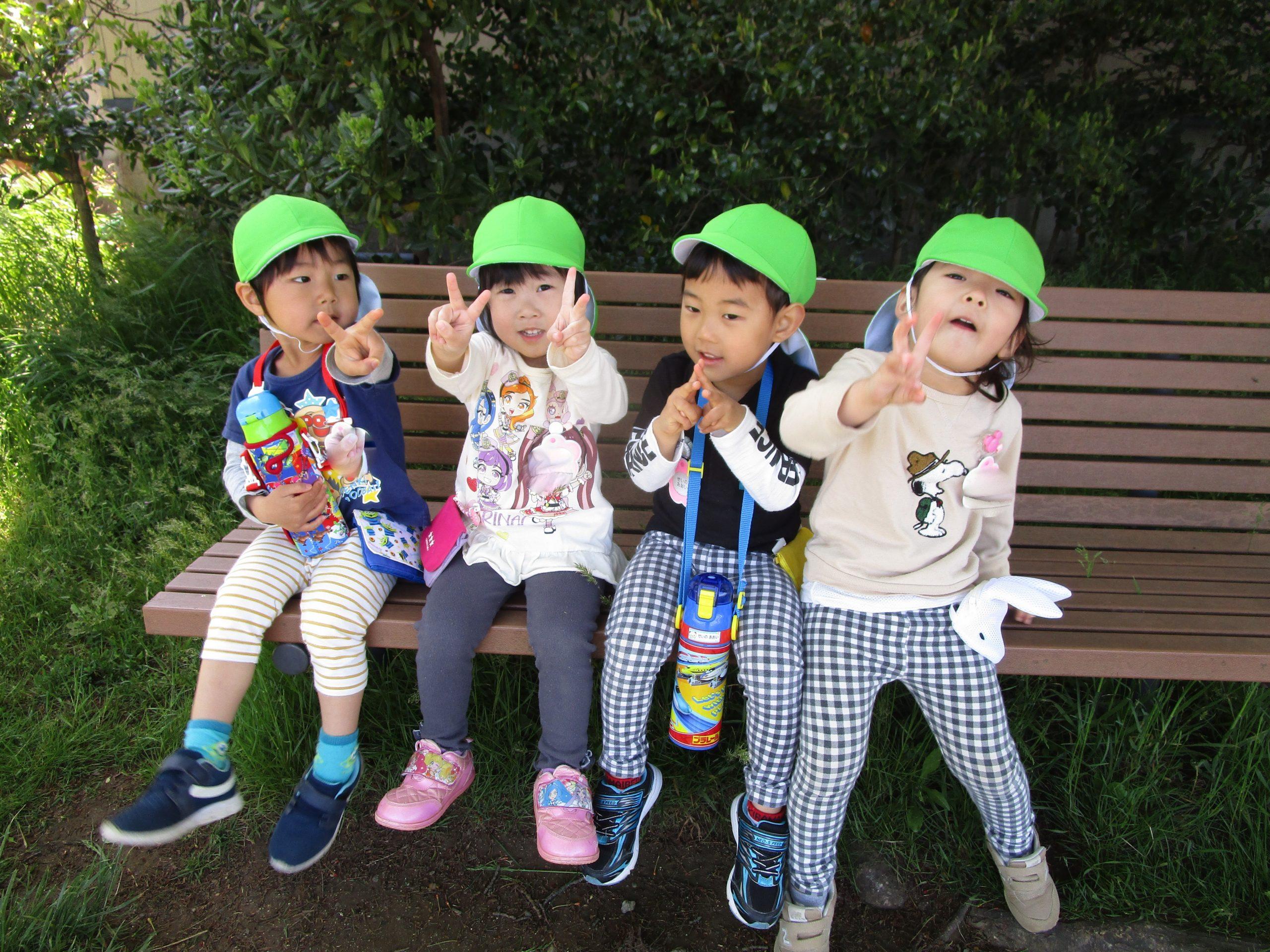 😊遊コスモス小新保育園「3歳児 おさんぽ🌼」