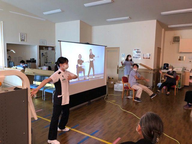 【リハトレ・ポート遊】新リズム体操&脳トレ体操!!開始