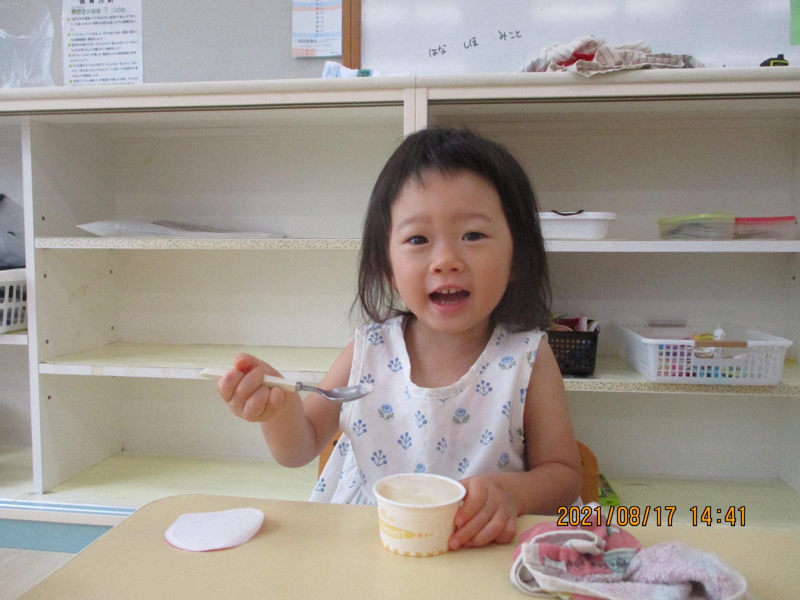 8月生まれさんの誕生会🎂 わかば組【白根そよ風保育園】