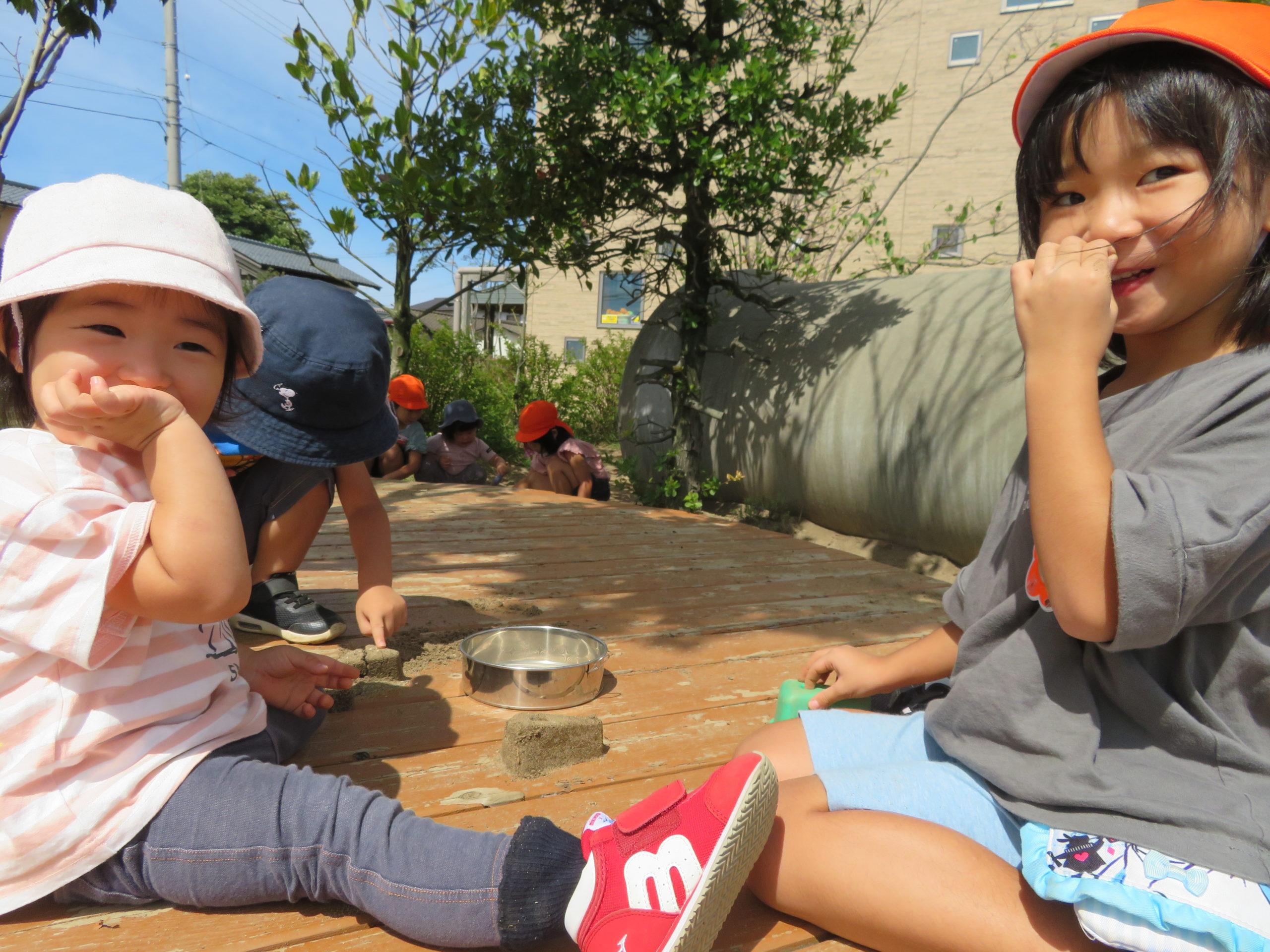 😊遊コスモス小新保育園☆1歳児ほし組「お外遊び~お兄さん・お姉さんと一緒❤」