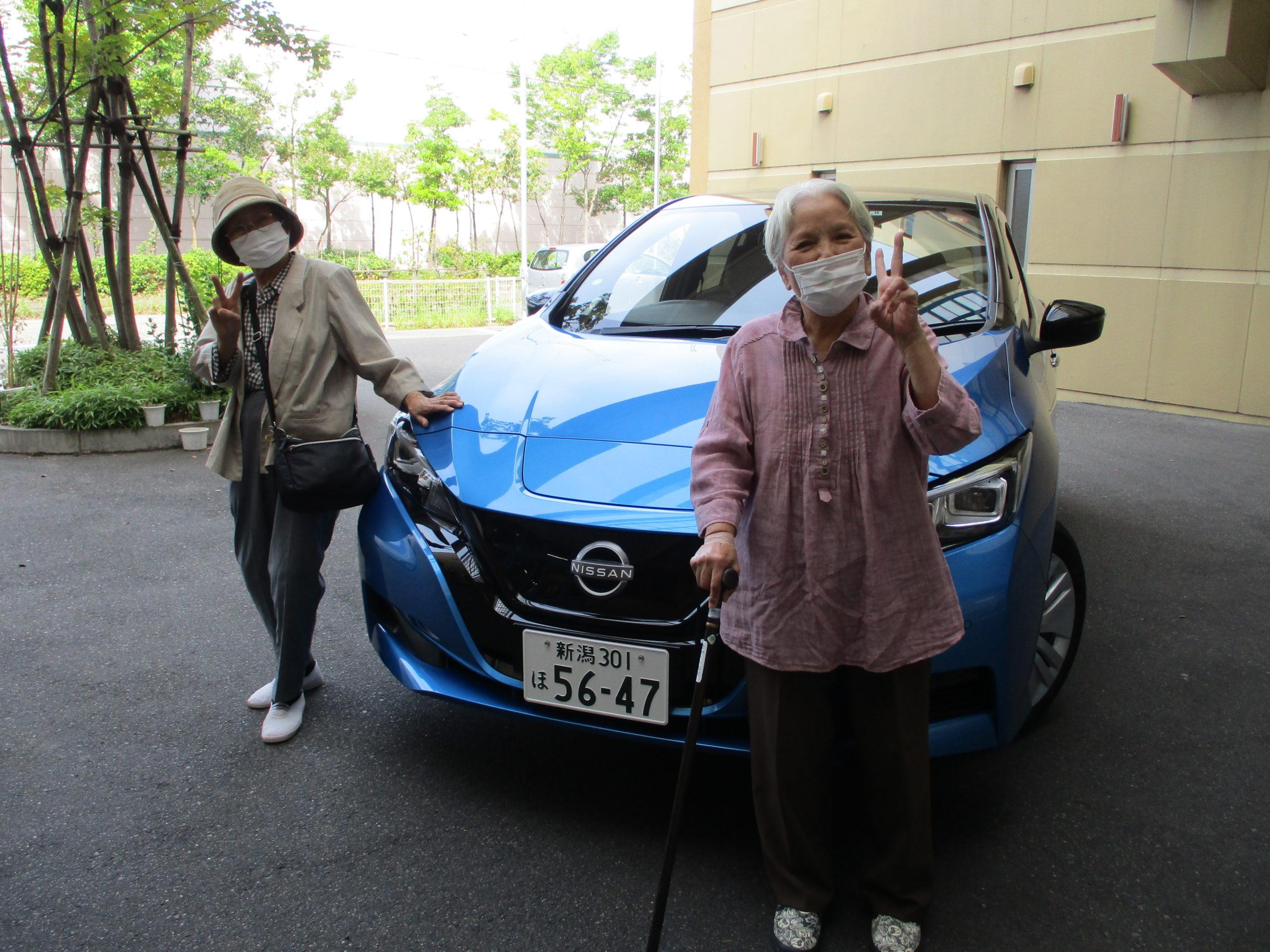 【デイサービスセンター白根そよ風の杜】祝☆新車初出動!!!🚘